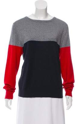 Boy By Band Of Outsiders Colorblock Silk Long Sleeve Top