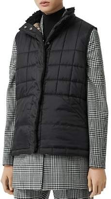 Burberry Quilted Puffer Vest
