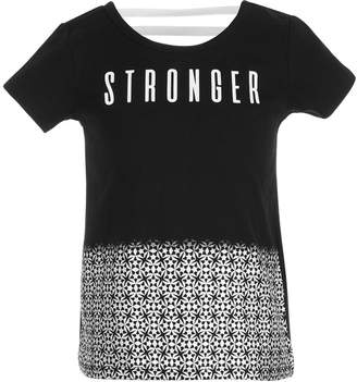 Ideology Little Girls Stronger Graphic T-Shirt, Created for Macy's