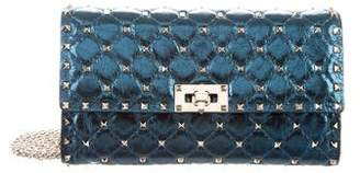 Valentino Quilted Rockstud Spike Chain Shoulder Bag