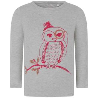 Oilily OililyGirls Grey Long Sleeve Owl Tip Top