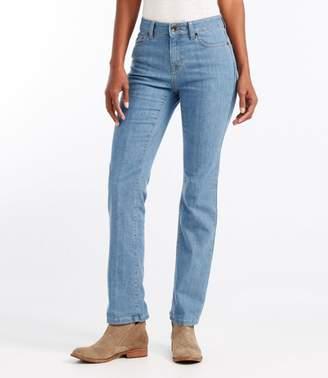 L.L. Bean L.L.Bean True Shape Jeans, Straight-Leg