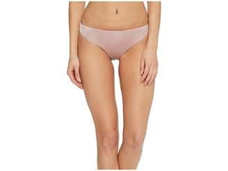 Bikini Lab THE Solid Cinched Back Hipster Bikini Bottom Women's Swimwear