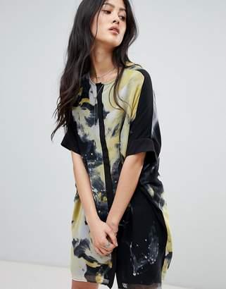 Religion Rural Tunic Shirt Dress in Virginia Print