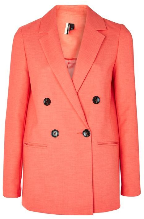 TopshopTopshop Double breasted suit jacket