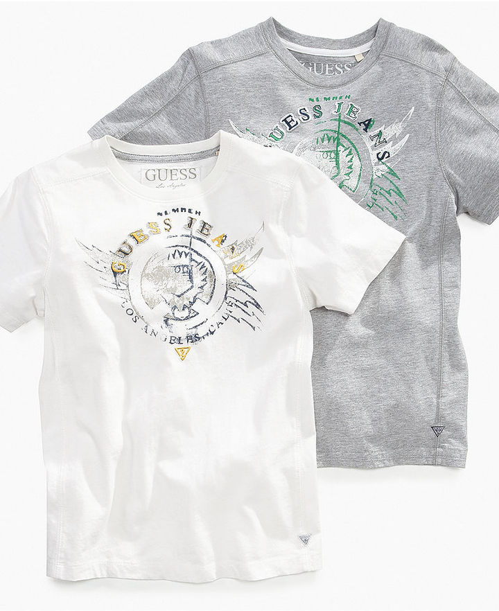 GUESS Kids T-Shirt, Little Boys Screen Graphic Tee