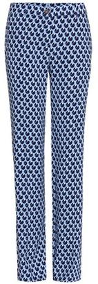 Exclusive to mytheresa.com – printed crêpe trousers