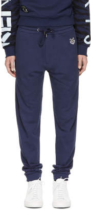 Kenzo Navy Tiger Crest Lounge Pants