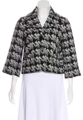 Robert Rodriguez Wool Cropped Jacket