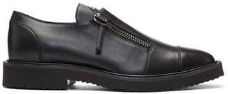 Giuseppe Zanotti Black Tyson Zip Loafers