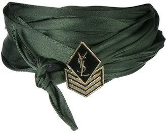 army braided choker
