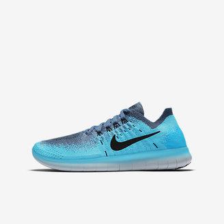 Nike Free RN Flyknit 2 Big Kids' Running Shoe $100 thestylecure.com