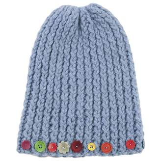 Marni Blue Wool Hat