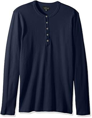 Velvet by Graham & Spencer Men's Velvet's Bernie All Cotton Long Sleeve Henley
