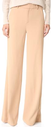 alice + olivia Paula Slim High Waisted Pants $297 thestylecure.com