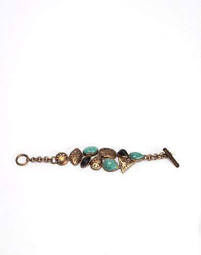 Chunky Stone Toggle Bracelet