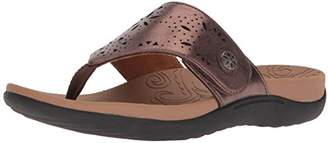 Rockport Women's Ridge Button Thong Sandal