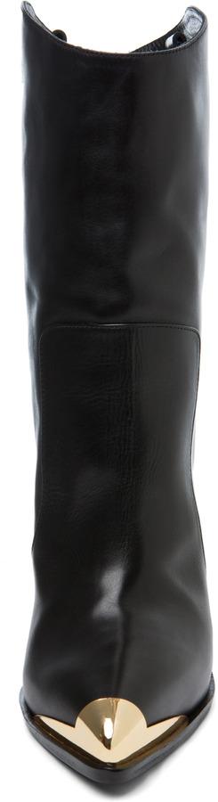 Versace Booties in Black