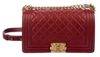 Chanel Medium Quilted Boy Bag