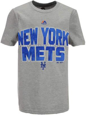 Majestic New York Mets Big City T-Shirt, Big Boys (8-20)