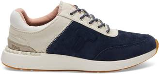 Toms Navy Suede and Canvas Women's Arroyo Sneakers