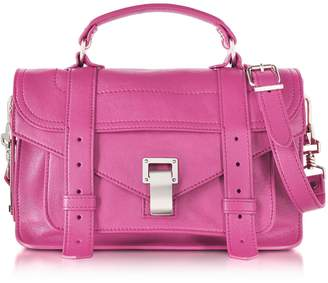Proenza Schouler Ps1 Tiny Lux Leather Satchel Bag