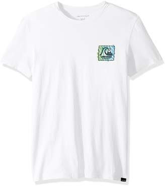 Quiksilver Young Men's Neon Scratch Ss Tee T-Shirt