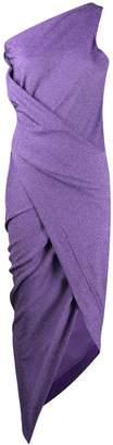 Vivienne Westwood one-shoulder ruched dress