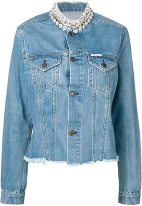Couture Forte Dei Marmi raw edge jacket