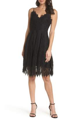 Foxiedox Calla Geometric Lace Dress