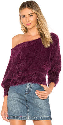 For Love & Lemons Lou Slouchy Sweater