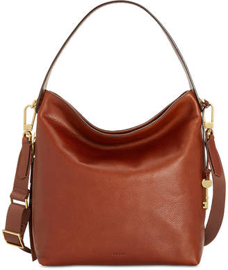 Fossil Maya Leather Hobo $238 thestylecure.com