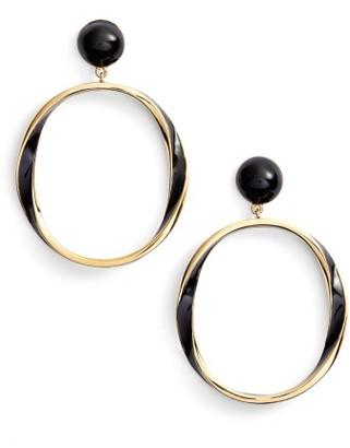 Women's Kate Spade New York Do The Twist Hoop Earrings $68 thestylecure.com