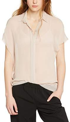 By Zoé Women's SPLENDIDE Blouse, Beige, 8