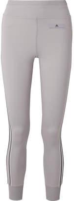 adidas by Stella McCartney Comfort Climalite Stretch Leggings - Light gray