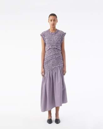 3.1 Phillip Lim Gathered Gingham Dropwaist Dress