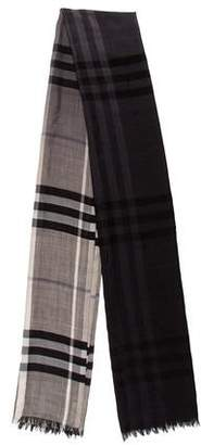 Burberry Woven Patterned Shawl