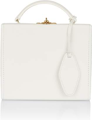 Pop & Suki White Box Bag with Luggage Tag