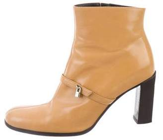 Gianni Versace Kate Spade New York Leather Ankle Boots