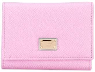 Dolce & Gabbana small Dauphine leather wallet