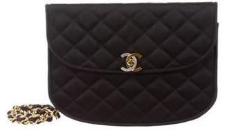 Chanel Satin CC Chain Bag