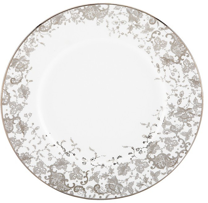 """Marchesa by Lenox """"French Lace"""" Accent Plate"""