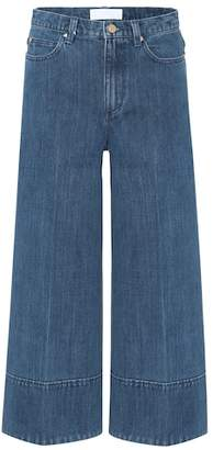 Co Cropped wide-leg jeans