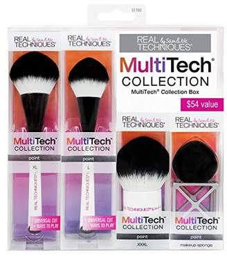 Real Techniques MultiTech Small Point Set-Makeup Brush Set-For Application of Cream