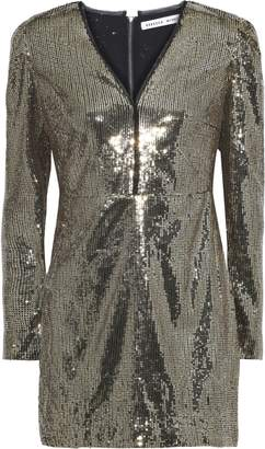 Rebecca Minkoff Sydney Sequined Tulle Mini Dress
