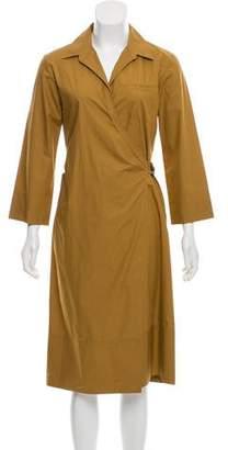 Nina Ricci Wrap Midi Dress