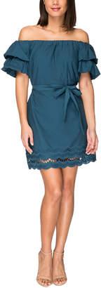 Bobeau Off-The-Shoulder Dress