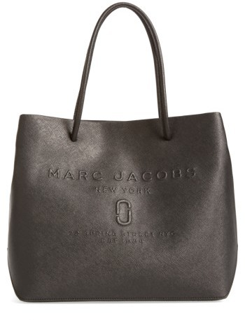 Marc JacobsMarc Jacobs Logo Leather Shopper - Green