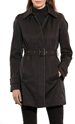 Women's Lauren Ralph Lauren Hooded Raincoat $230 thestylecure.com