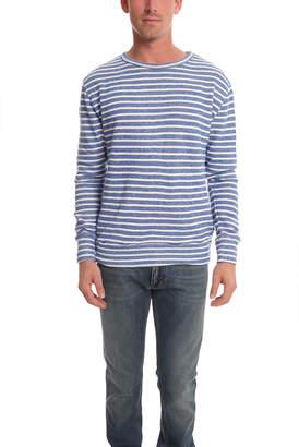 V::room Gauze Fleece Boarder Sweater